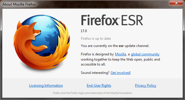 Firefox 17 is Out