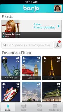 Banjo Home Screenshot