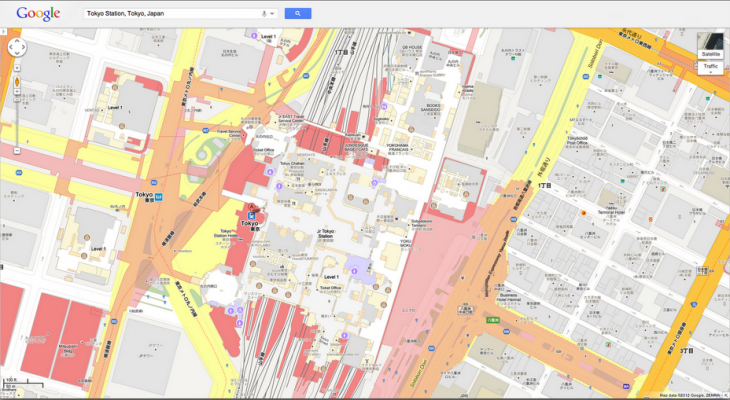 indoor maps 730x400 Google Maps brings over 10,000 indoor floor plans to the desktop