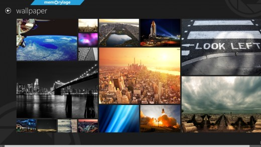 memorylage 520x294 25 inspiring Windows 8 app designs