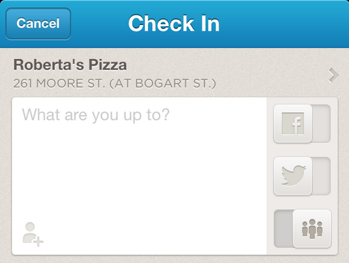 mention Foursquares latest iOS update lets you mention Facebook friends who arent on Foursquare