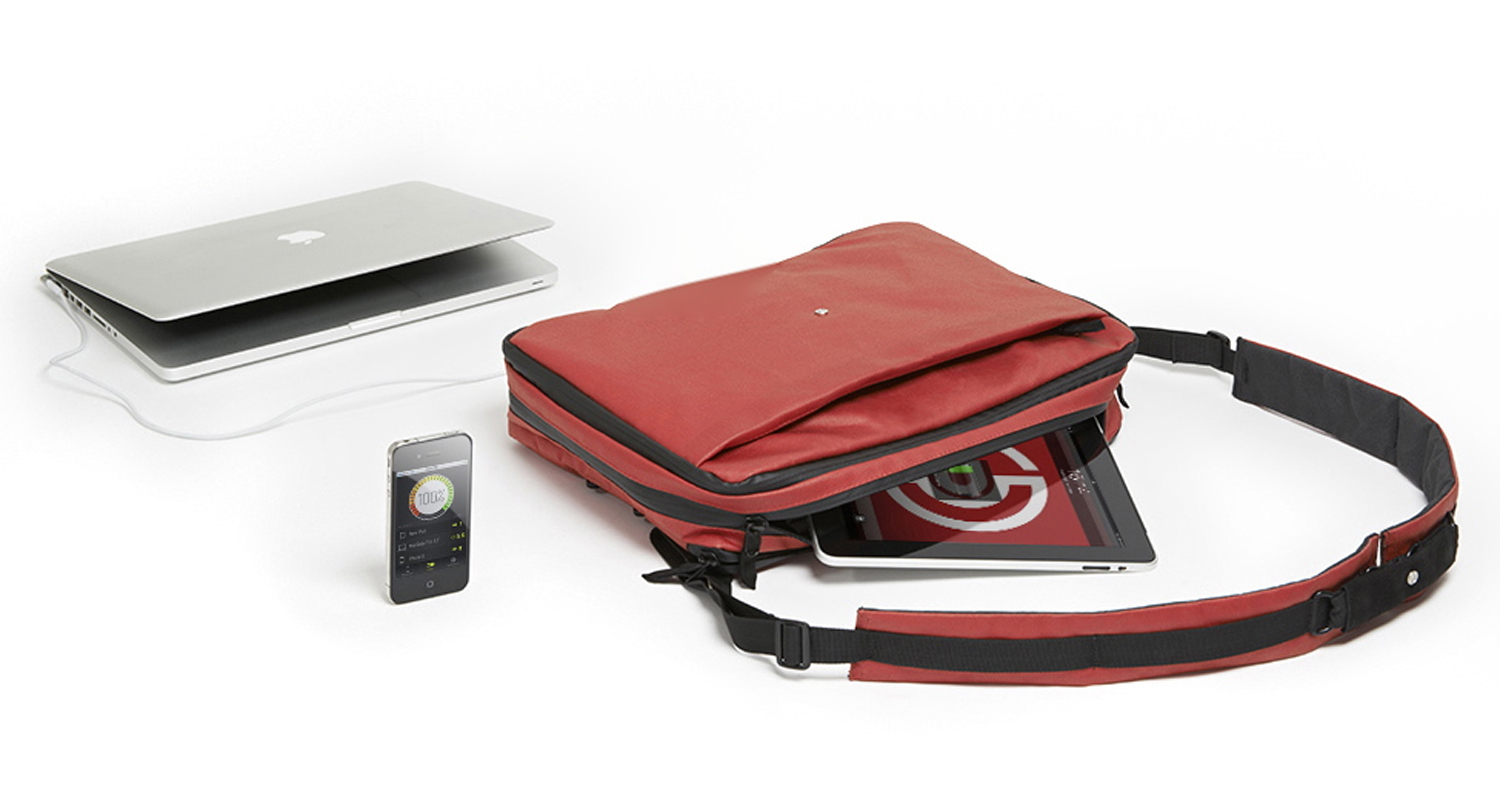 phorce 1 Waterproof Phorce laptop bag hits Kickstarter to charge your devices and alert you if you lose it
