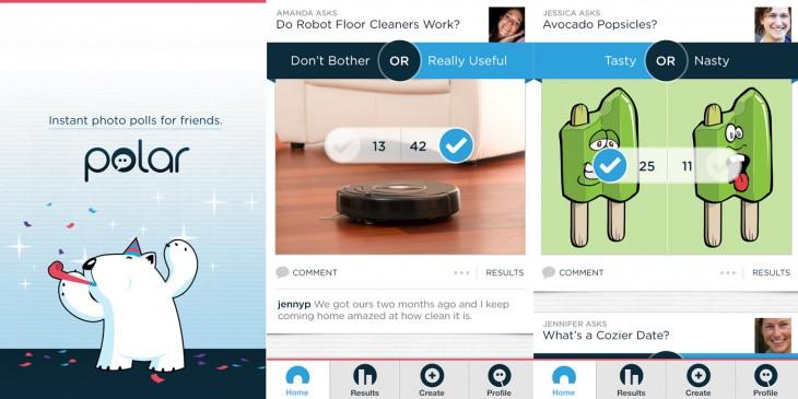 Polar iOS app screenshot