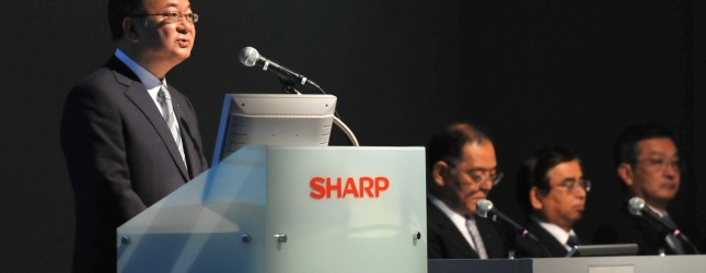 Japan's Sharp Corp. President Takashi Ok