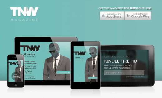 tnw magazine 520x316 TNW Magazine hits the 100,000 monthly session milestone 4 months ahead of schedule