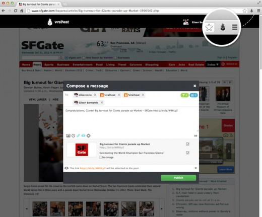 ViralHeat Flint Screenshot
