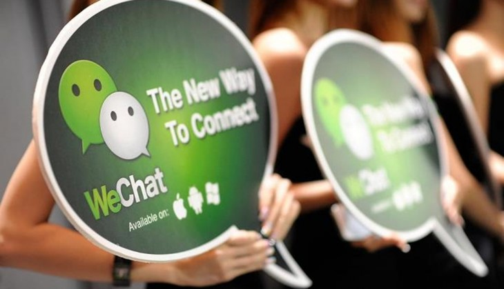 wechat 730x419 Mobile chat apps have overtaken Twitter and Facebook in Japan and Korea