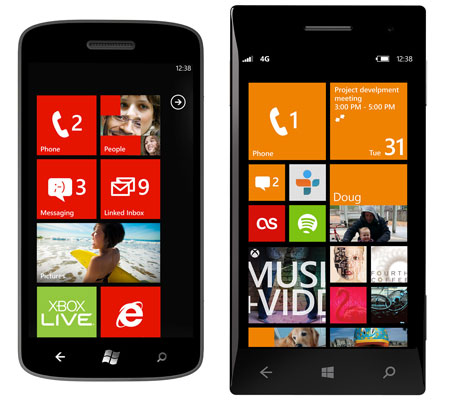 windowsphone startscreen1 Microsoft reveals creative insights behind the design of Windows Phone 8s start screen