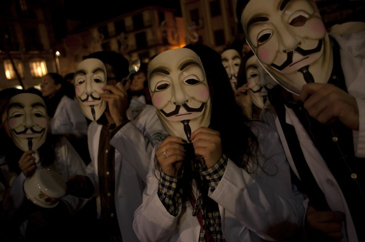 McAfee predicts Anonymous hacktivist movement will slow down in 2013, but its reasoning is flawed