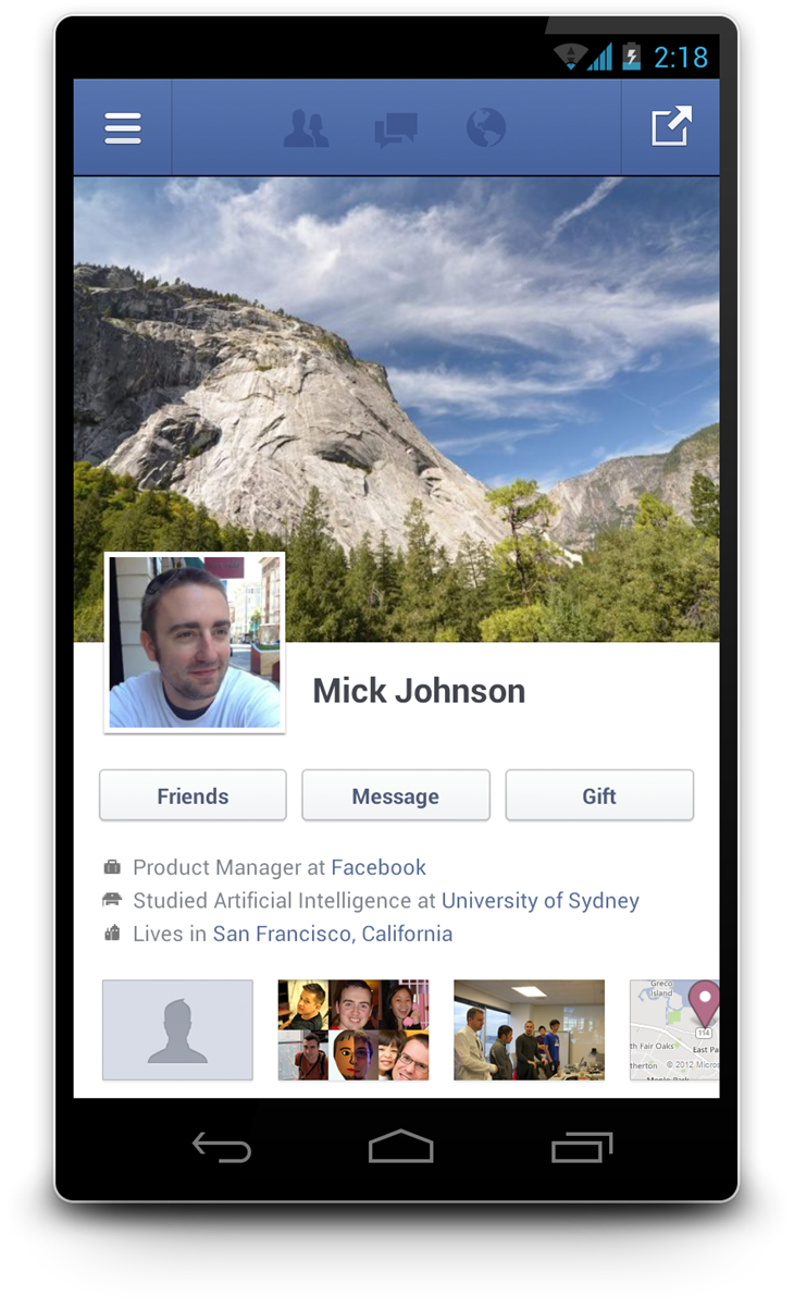 Facebook's Android App Goes Native With Improved ...
