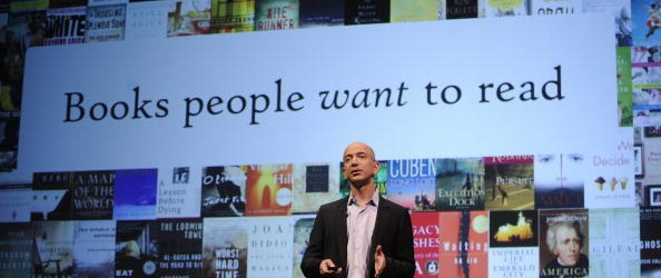 Online retail giant Amazon.com CEO Jeff
