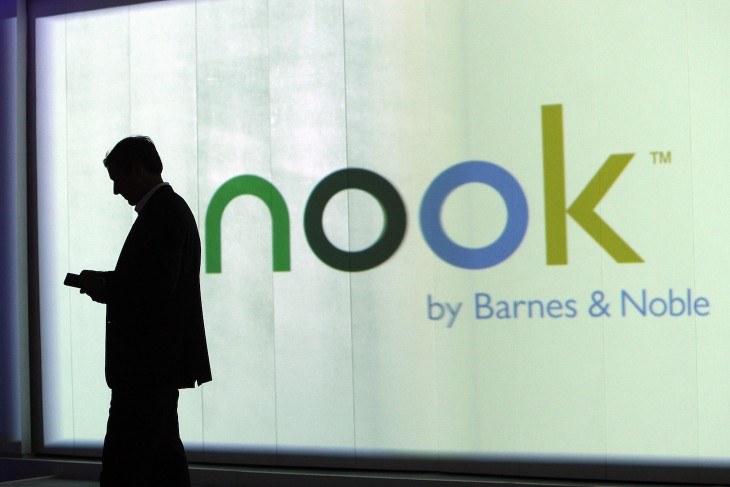Pearson buys 5% stake in NOOK Media, the Microsoft-Barnes & Noble joint venture, for $89.5m; valuing ...