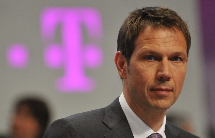 Deutsche Telekom CEO René Obermann will step down in Dec 2013; CFO Tim Höttges to succeed him