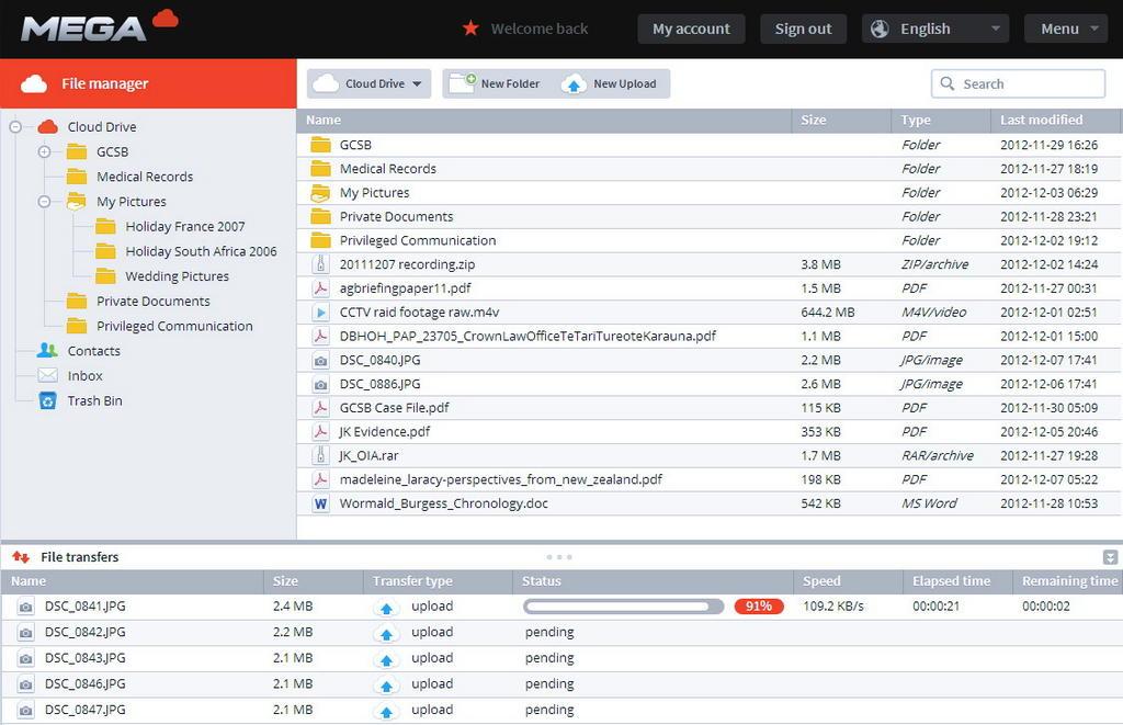 Kim Dotcom Reveals Mega Will Offer 50GB of Free Storage