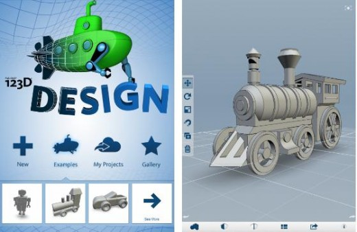 Autodesk1 520x338 14 of the best apps from 2012 for designers, developers and creatives