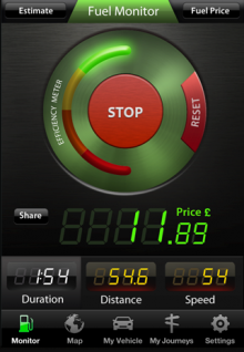 D 220x318 TNW Pick of the Day: Fuel Monitor shows drivers exactly how much their trips costing in real time