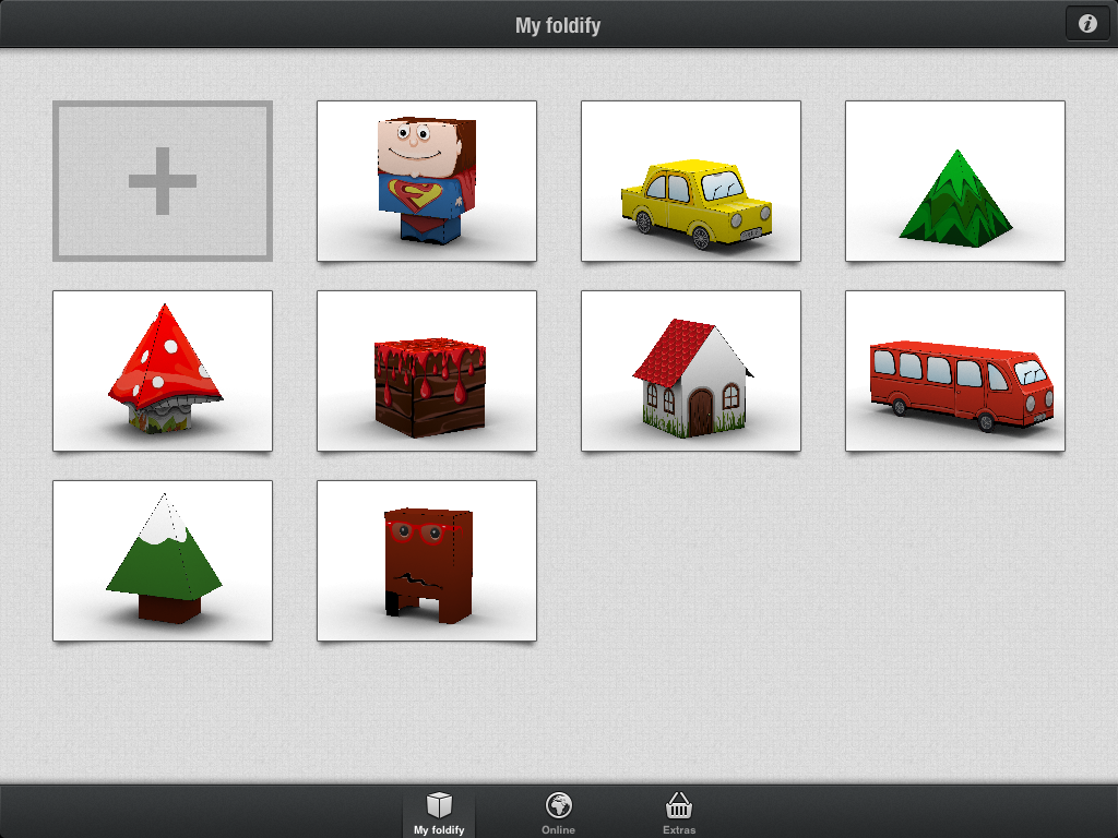 Foldify a clever papercraft app for ipad for Create and craft app