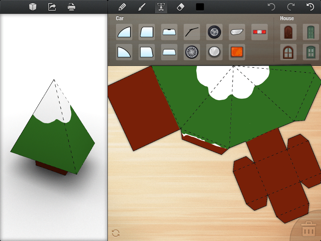 Foldify A Clever Papercraft App For Ipad
