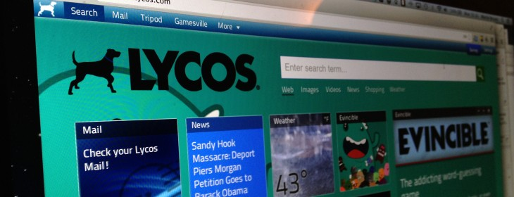 Remember Lycos? It's planning a new search engine for launch in 2013