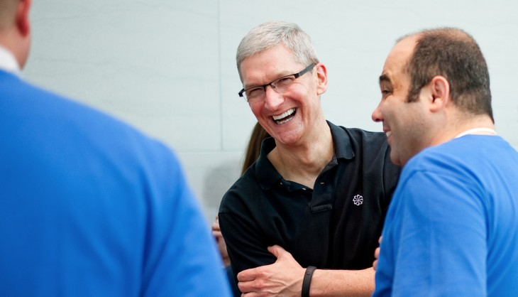 Apple CEO Tim Cook's first TV interview is with Brian Williams, to be aired Dec 6th on NBC