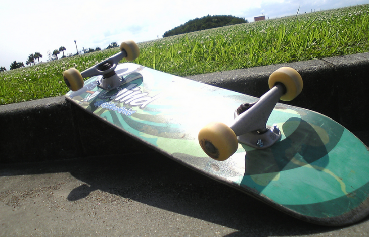 Forget the Internet of Things, this is the Skateboard of Awesome [video]