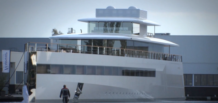 Steve Jobs' high-tech yacht impounded in Amsterdam over unpaid $3.6 million bill