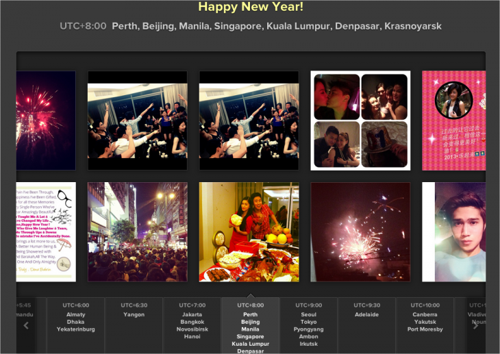 Instagram New Year's Eve