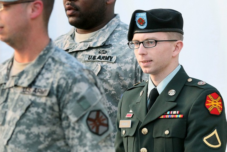 U.S. Army Arraigns PFC Bradley Manning In Wikileaks Case via getty images 730x490 2012s biggest tech news in pictures