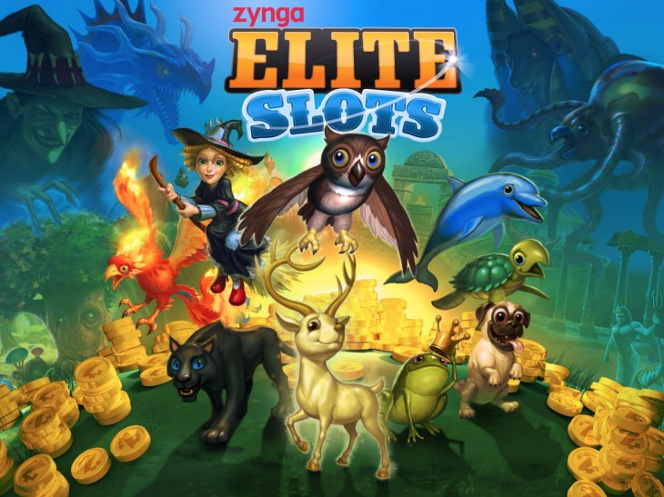 Zynga Elite Slots poster 730x547 Launching soon, Zynga brings multiplayer slot machines to Facebook with Zynga Elite Games