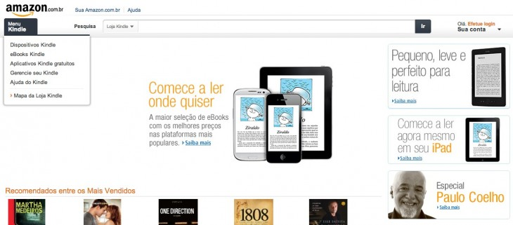 amazon e books brazil 730x321 Amazon launches its Kindle Store in Brazil, announces $150 Kindle will be available in the coming weeks