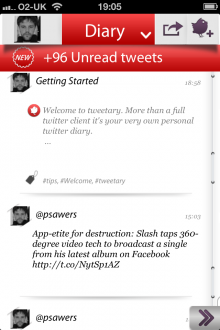 b 220x330 TNW Pick of the Day: Tweetary isnt just an iOS Twitter client, its a diary for all your tweets