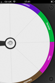 b1 220x330 Sooner: A gorgeous wheel based to do list app for iOS