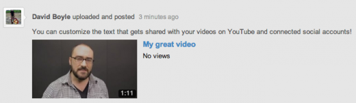 b4 520x151 YouTube now lets creators customize the text subscribers see when a new videos shared