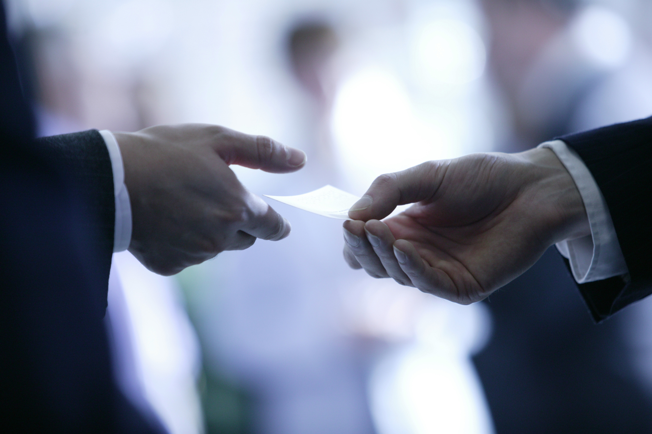 Business Card Etiquette 102 - House of Marbury