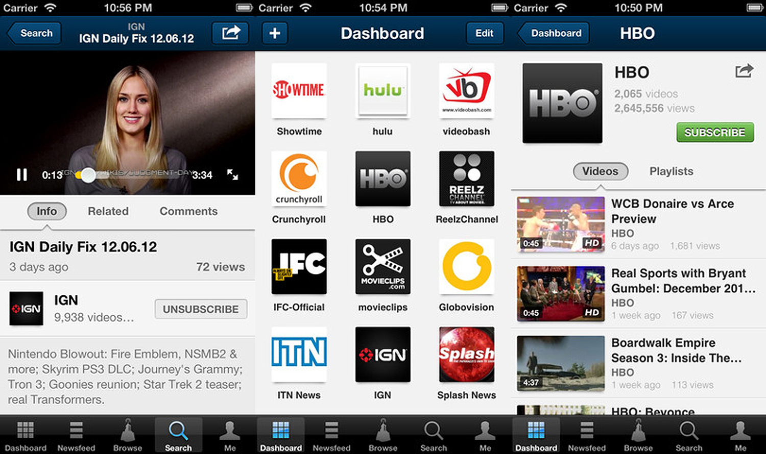 dailymotion ios Online video giant Dailymotion updates iOS app with a fresh UI and better playlist organisation