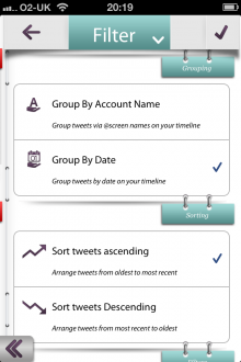 e 220x330 TNW Pick of the Day: Tweetary isnt just an iOS Twitter client, its a diary for all your tweets