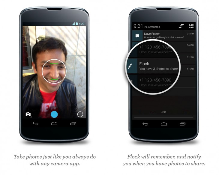 Flock for Android screenshot