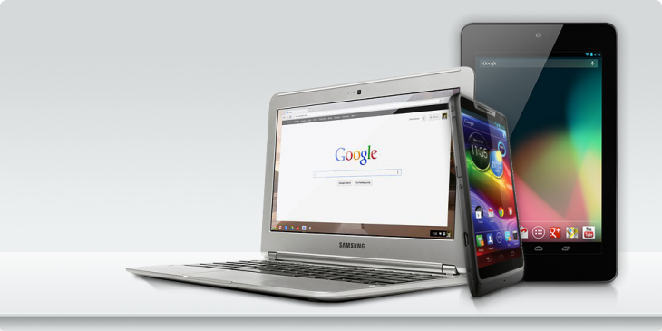g3 730x365 Merry Christmas from Google: Employees get to choose from a free Chromebook, Motorola RAZR M or Nexus 7