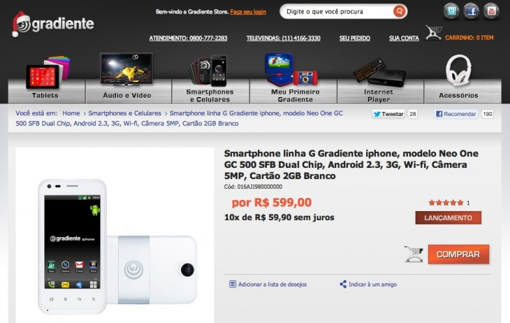gradient smartphone 730x462 Trololol: Brazilian brand launches IPHONE smartphone series, claims brand ownership