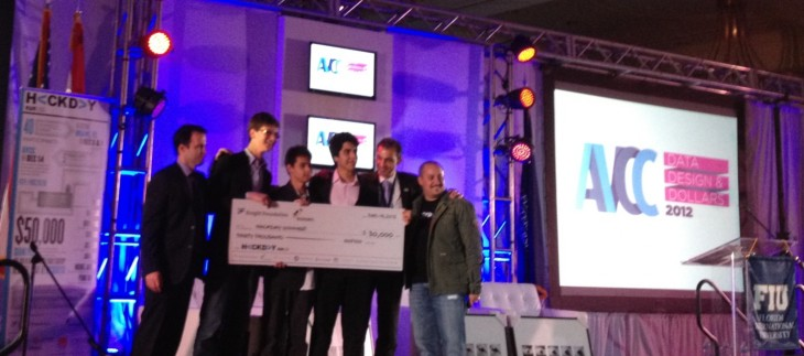 AskMeOut's teen founders win HackDay, may start a long-term relationship with Miami