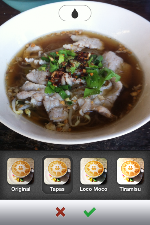 image 1 520x780 Food sharing app Burpple serves up photo filters to make your latest eats look even tastier