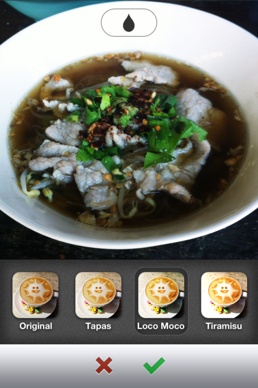 image 2 520x780 Food sharing app Burpple serves up photo filters to make your latest eats look even tastier