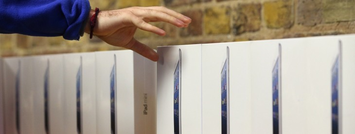Apple struggles to keep up with iPad mini demand as cellular model launches in China to 2-week delay