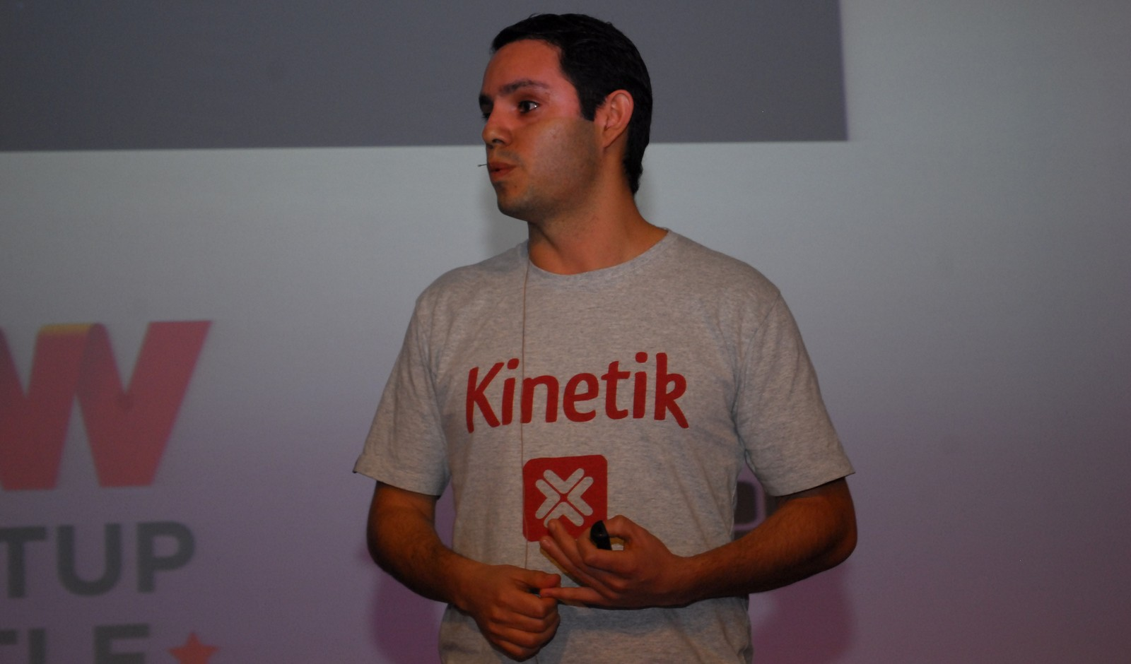 kinetik ceo raul moreno at TNW conference
