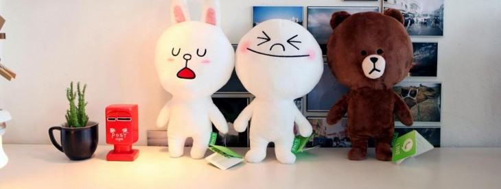Asian messaging app Line passes 100 million downloads, just 18 months after launch