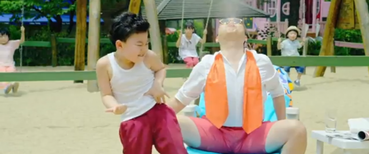 "Little guy, big stage presence: Watch the kid from ""Gangnam Style"" bust a move"
