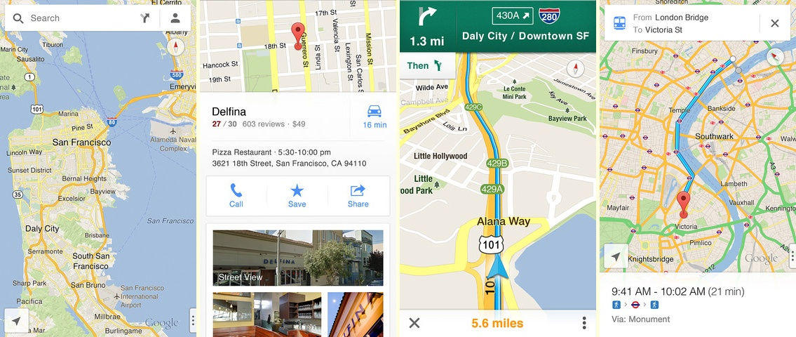 Google Maps for iOS Finally Arrives on