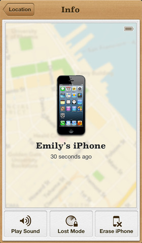 Find My iPhone Gets Driving Directions