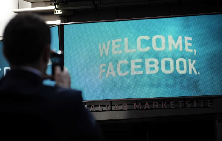 nasdaq welcomes facebook via getty images 730x464 2012s biggest tech news in pictures