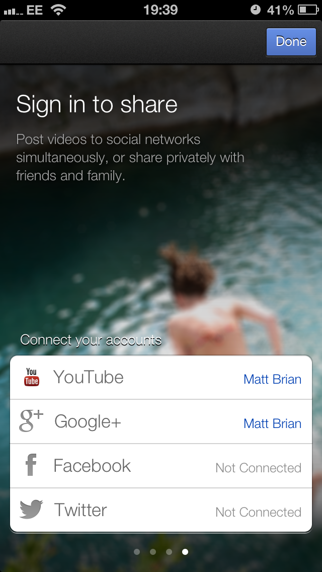 YouTube Capture App Shoots and Shares On iOS